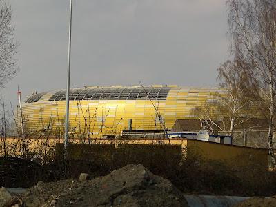 Świecące płyty z poliwęglanu Baltic Arena