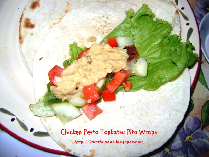 how to make a pita wrap