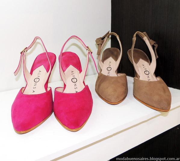 Alfonsa Bs As zapatos verano 2014.