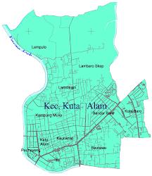 Peta Wilayah Kuta Alam