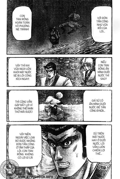 Chú Bé Rồng - Ryuuroden chap 215 - Trang 13