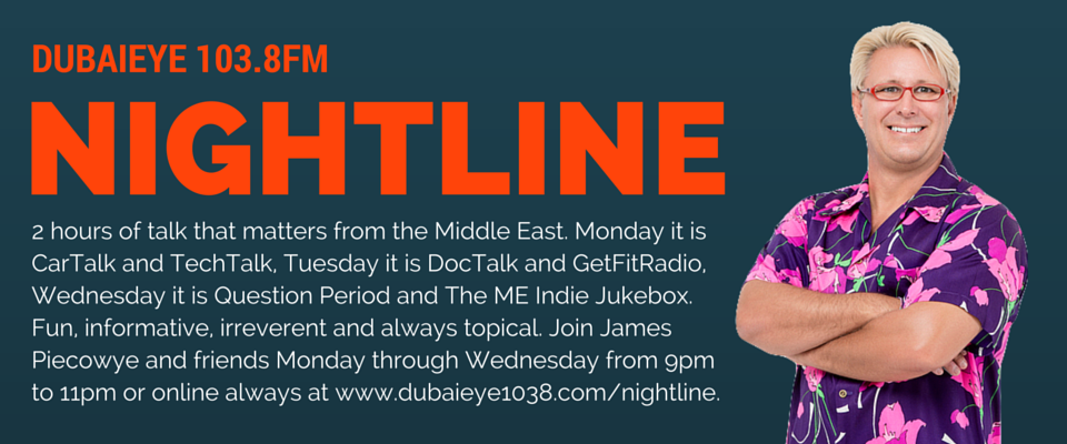 Nightline on DubaiEye 103.8 FM