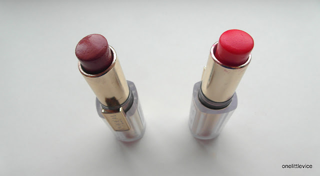 sheer drugstore lipstick review and swatches