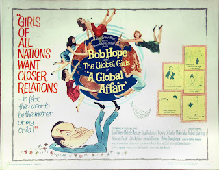 Half sheet American film poster for A Global Affair