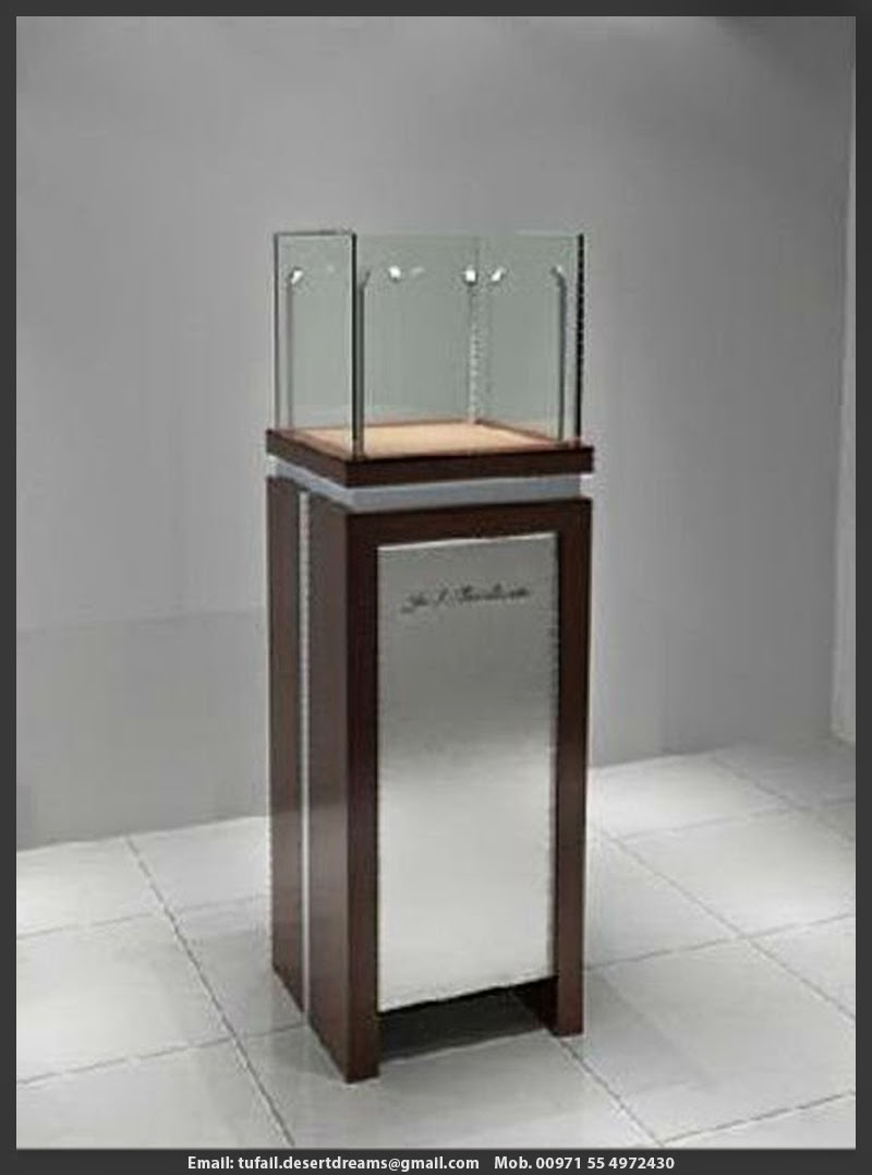 Wooden Exhibition Stand : Rent and sale display stands in uae wooden