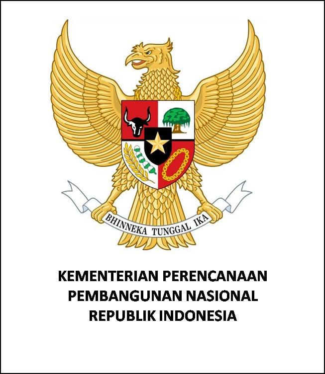Logo  Kementerian Perencanaan Pembangunan Nasional Indonesia [Kementerian PPN]