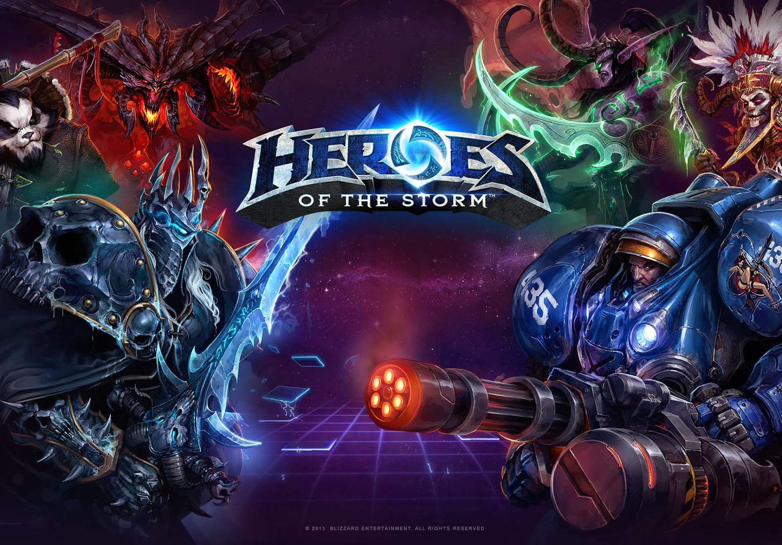 Heroes of the Storm: First Look