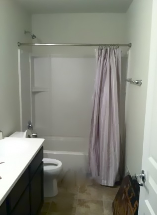 the yellow cape cod boy 39 s bathroom reveal using two