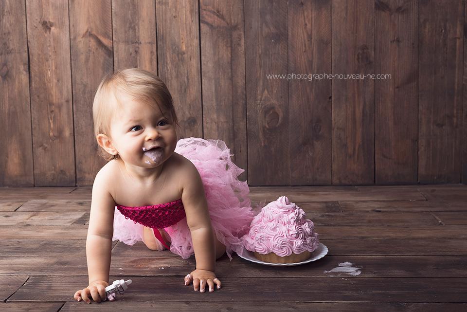 Photographe anniversaire bébé