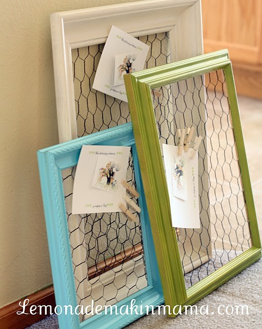 Diy Wire Frame Glasses : a country nest: DIY: chicken wire frame