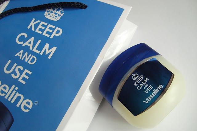 Wazelina kosmetyczna od Vaseline - KEEP CALM AND USE Vaseline