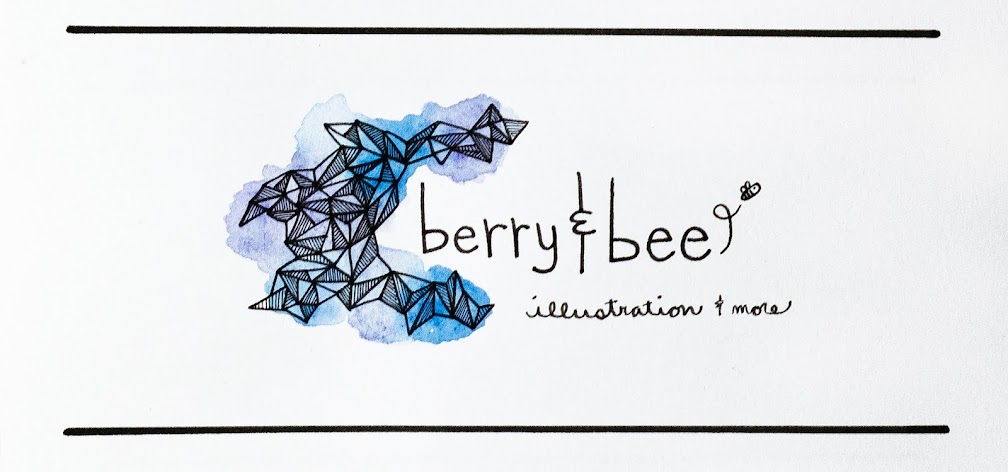 berry and bee