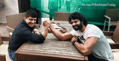 Prabhas with Muscular Body in Bahubali