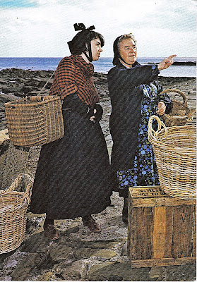Traditional dress of Cullercoats fishwives, Tyne & Wear