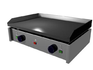 Cocinando generadores de calor for Planchas de cocina electricas