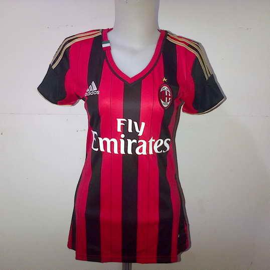 AC Milan Jersey Wanita