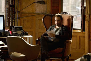 Johnny Lee Miller plays Sherlock Holmes in Elementary