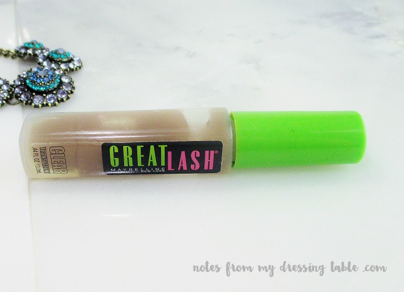 Maybelline Great Lash Clear Mascara notesfrommydressingtable.com