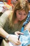 Autografando na Livraria Saraiva