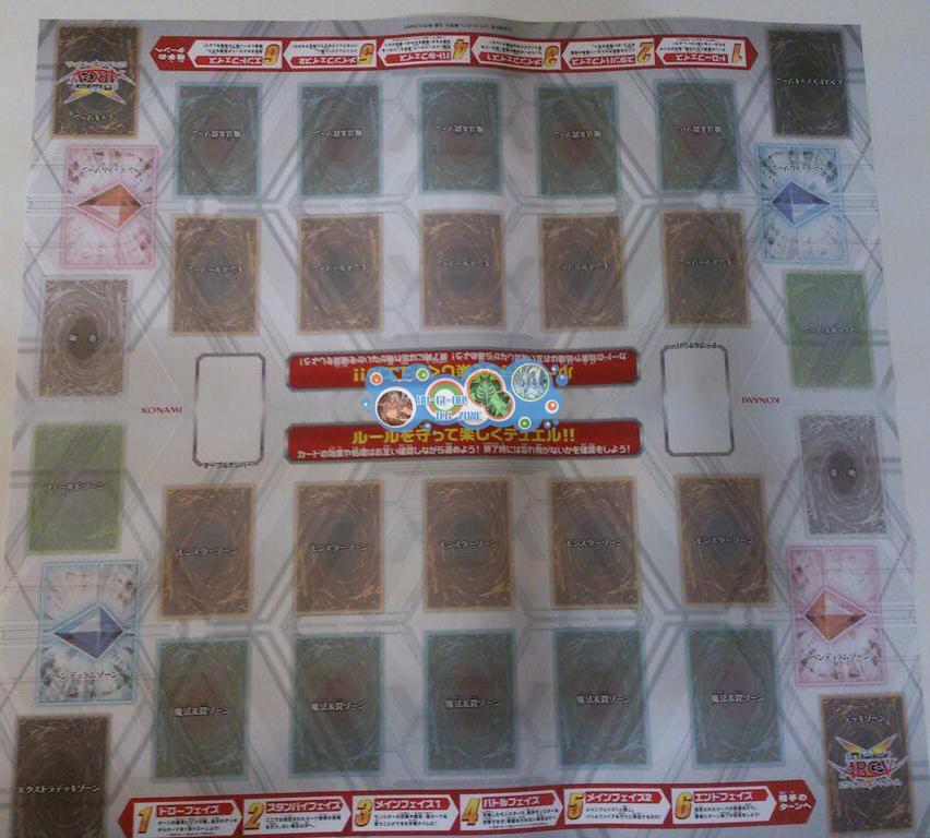New OCG Game Field with Pendulum Zone
