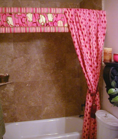 Shower Curtains Valance Attached | House Design
