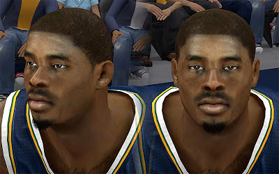 NBA 2K13 Marvin Williams Cyberface Patch