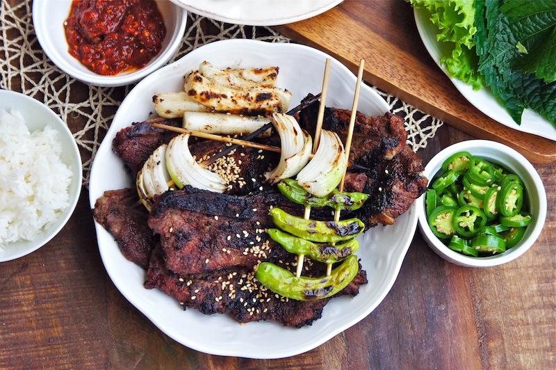 Seasaltwithfood: Korean Styled BBQ Beef Short Ribs~Kalbi(Galbi)