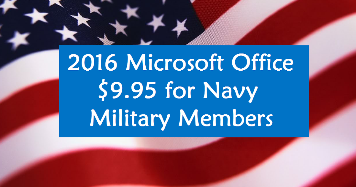 Microsoft offers a full version of the new Office at a discount for military families. Microsoft offers a full version of the new Office at a discount for military families. Login.