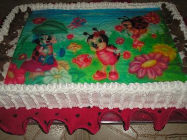 bolo da joaninha
