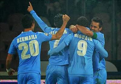 Xem lại đầy đủ trận Napoli vs Inter Milan