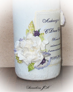 МК: свадебное шампанское от блога Скрап без Границ