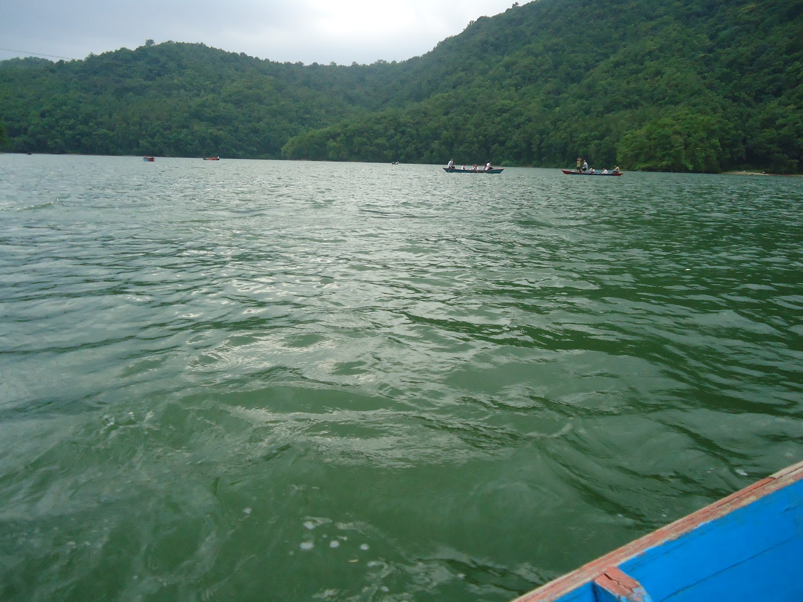 Boating In Pokhara Beautiful Images Of Nepal
