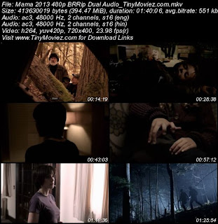 Mama 2013 480p BRRip Dual Audio 400MB