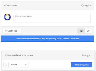 How to add Google+ comment widget on Blogger blog