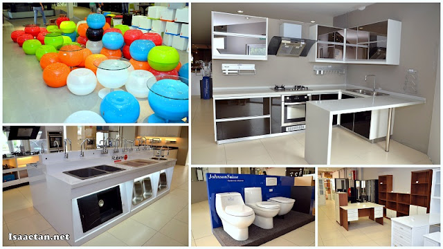 Kitchen cabinets, sinks, bathroom accesories, coffee tables and a whole lot more