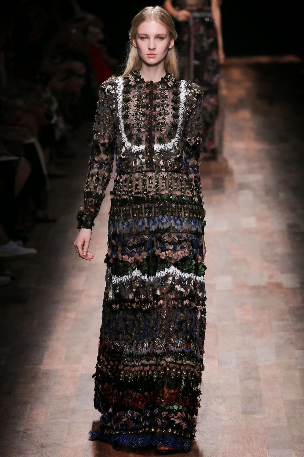 valentino 2015 summer 2016 trend women dress77 Valentino 2015 samling, våren sommaren 2016 Valentino klänning modeller, Valentino kväll klänning nya säsongen kvinnors kjolar modeller