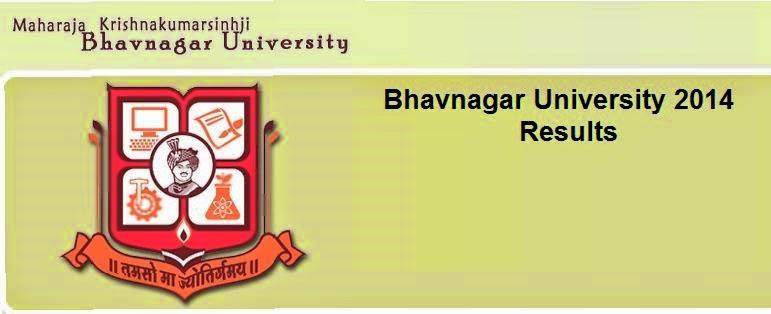 Bhavnagar University 2014 Results