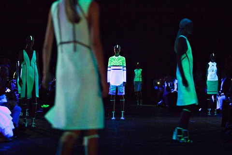 Alexander Wang's Spring/Summer 2013 Glow in the Dark Dresses