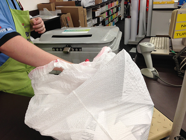 Shredding Paper at Home Office Stores