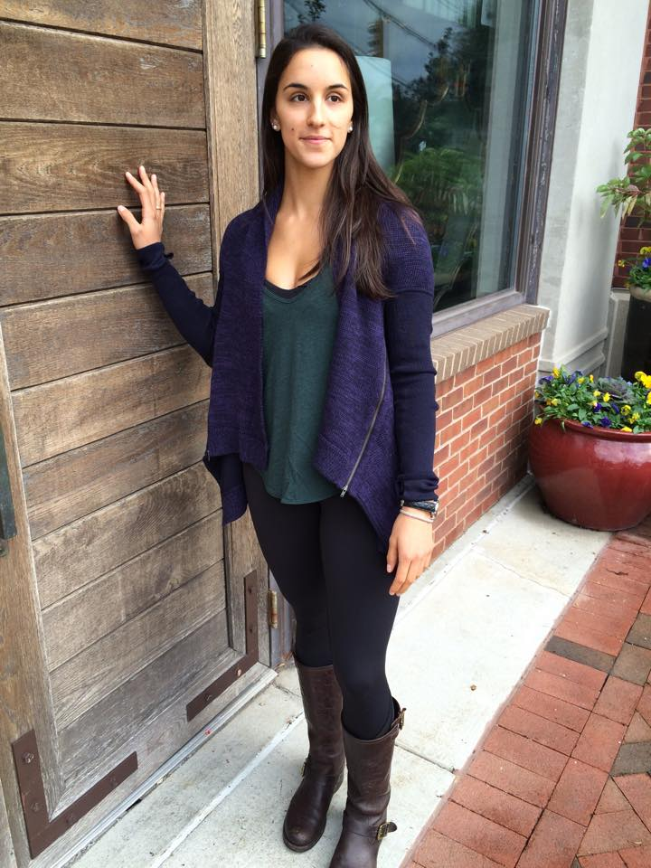 lululemon black grape wrap it up sweater
