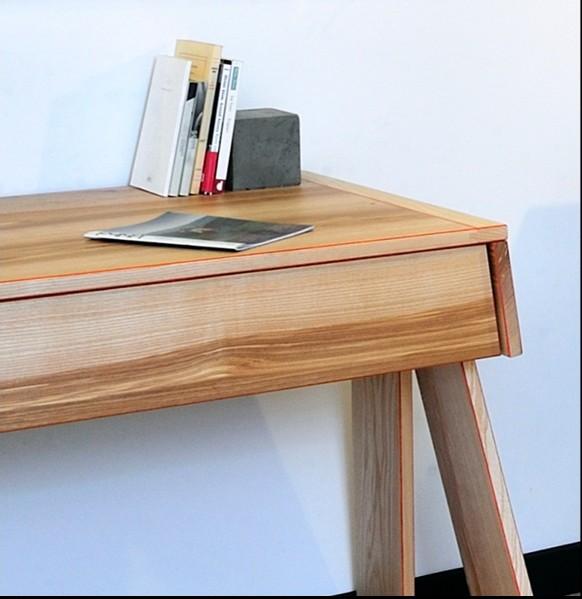 Nouveaux bureaux design en bois le blog de loftboutik for Bureau design 1 m