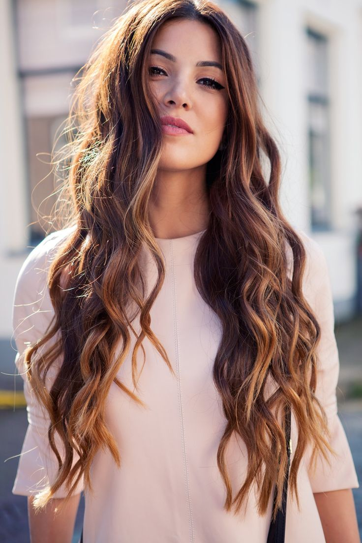 PEINADO Ondas o Rizos con las planchas del cabello YouTube - Peinados Con Plancha Pelo Largo
