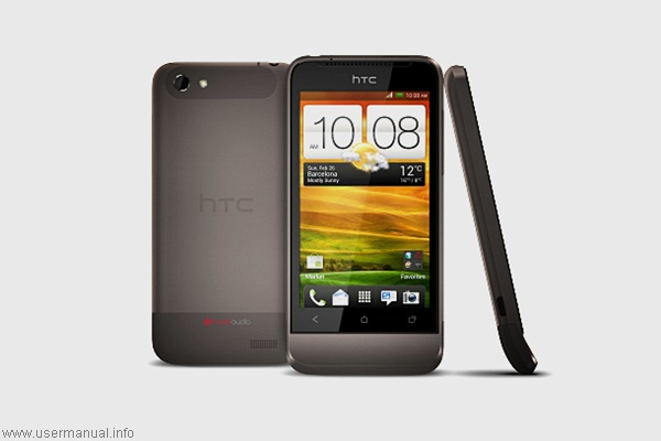 HTC One V user manual guide pdf