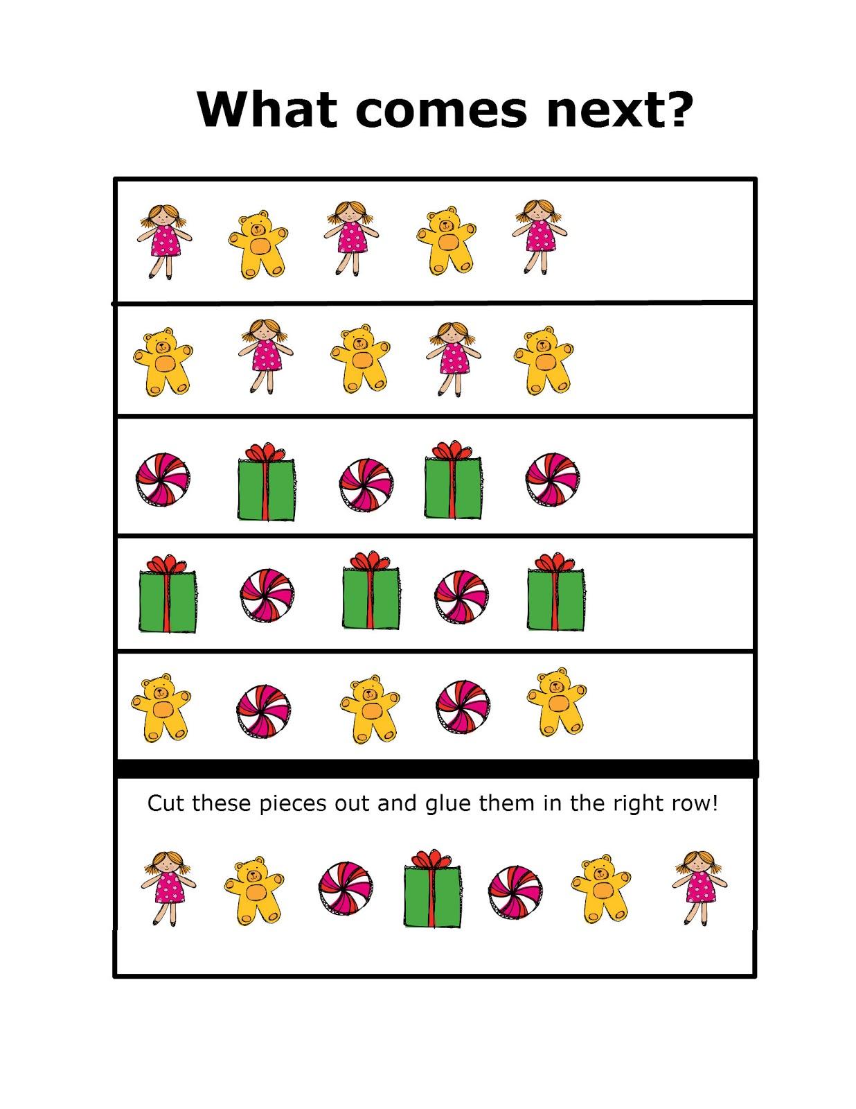 Christmas Preschool Packet {3 Day FREEBIE!!} | Preschool Powol Packets
