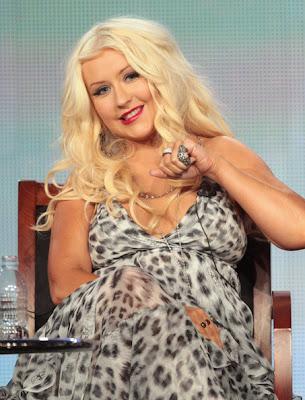 Christina Aguilera Hair 2012