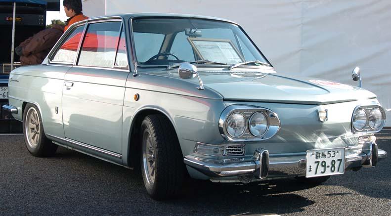 stary samochód, klasyk, Hino Contessa, 日野・コンテッサ