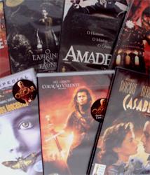 DVDs Bolão Oscar