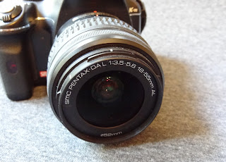 Pentax K-m lens kit
