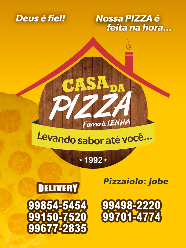 Pizzaria da casa