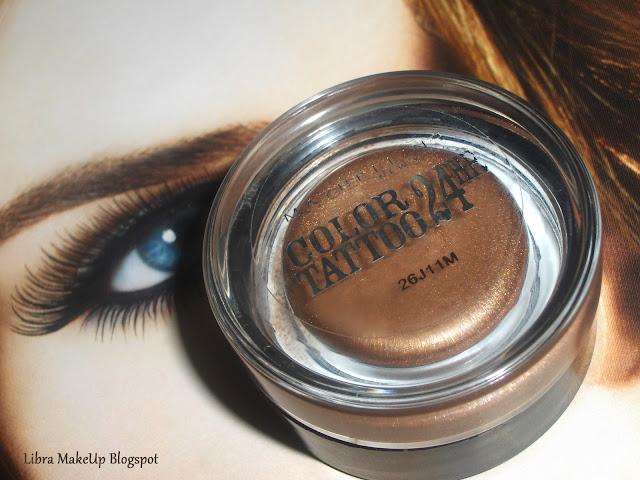 maybelline eyeshadow bronze